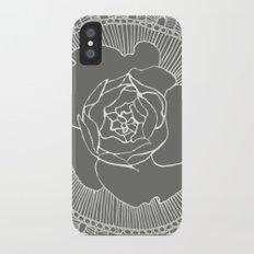 Rose Mandala Slim Case iPhone X
