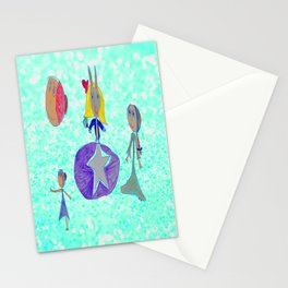 Alice | Up to the light sky Stationery Cards