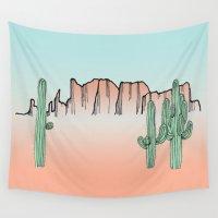 arizona Wall Tapestries featuring Arizona by Mrs. Ciccoricco