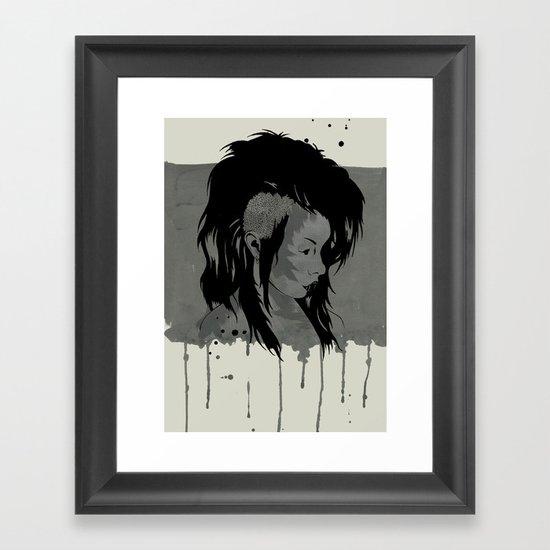 Punk is Dead Framed Art Print