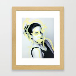 Talia Framed Art Print