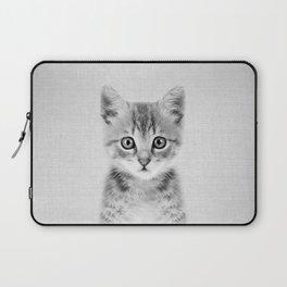 Kitten - Black & White Laptop Sleeve