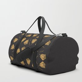 Golden Stingray Duffle Bag