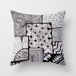 Pattern #4 Throw Pillow