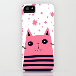 Dreaming Kitty iPhone Case