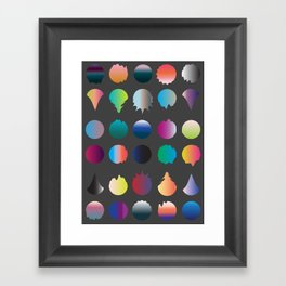 Cirque II Framed Art Print
