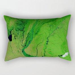 Floods in Argentina Rectangular Pillow