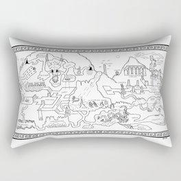 The Excavation Rectangular Pillow