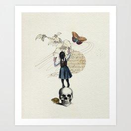 LittleWriter Art Print