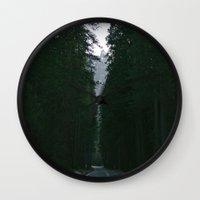 yosemite Wall Clocks featuring Yosemite  by Andre Elliott