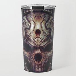BioMech-HellSkull Travel Mug