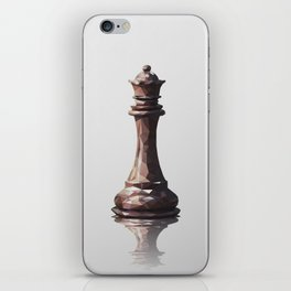 queen low poly iPhone Skin