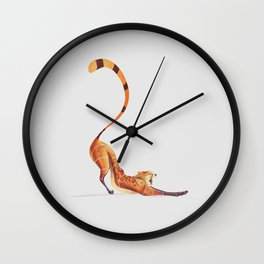 Cheetah 3 Wall Clock