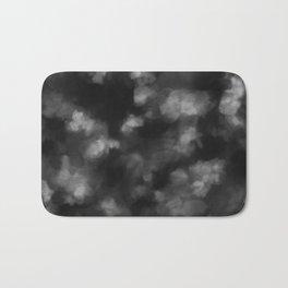 Black Heart in the Clouds Bath Mat
