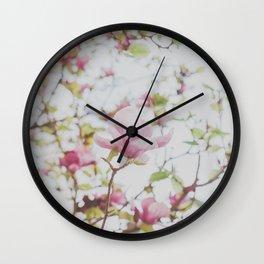 Magnolia Stories Wall Clock