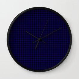 Home Tartan Wall Clock