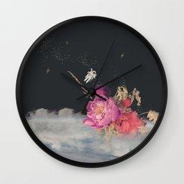 Space Florist Wall Clock