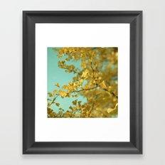 Ginkgo #3 Framed Art Print