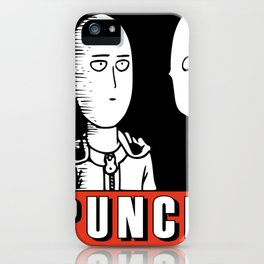 One Punch Obey iPhone Case