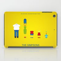 simpsons iPad Cases featuring Simpsons by Jana Costa