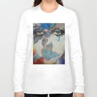 gothic Long Sleeve T-shirts featuring Gothic Butterflies by Michael Creese