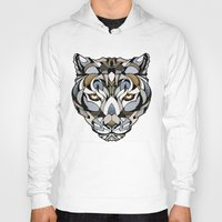 leopard Hoodies featuring Leopard by Andreas Preis