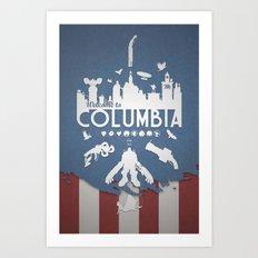 Welcome To Columbia - Bioshock Infinite (Variant) Art Print