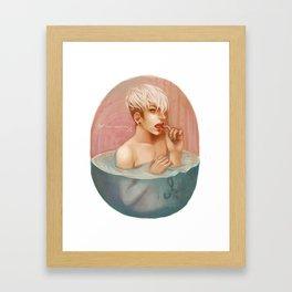 Stop Talking Framed Art Print