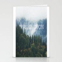 washington Stationery Cards featuring WASHINGTON by shannonfinnphotography