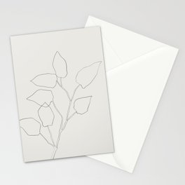 Floral Study no. 5 Stationery Cards