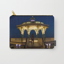 Brighton Bandstand at Night Carry-All Pouch