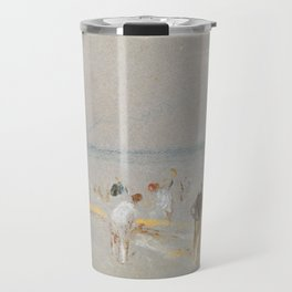 "J.M.W. Turner ""Cricket on the Goodwin Sands"" Travel Mug"