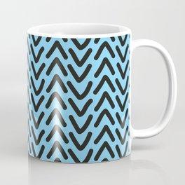 chevron blue sky Coffee Mug