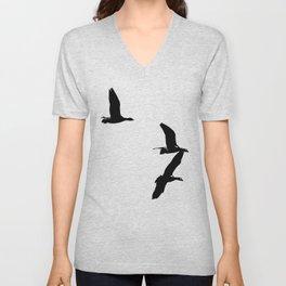 Birds 2 Unisex V-Neck