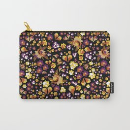 Forget-Me-Not (Yellow) Carry-All Pouch