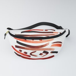 Abstract Calligraphy Fanny Pack