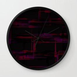 Purple Passion Plumbing Wall Clock