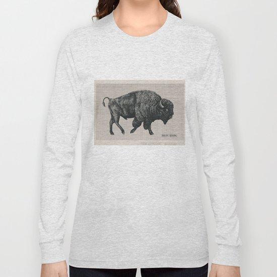 Bison Bison Long Sleeve T-shirt
