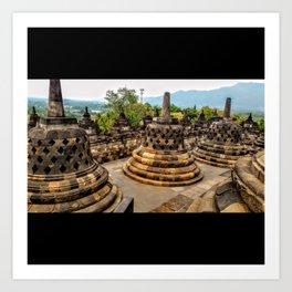 Buddhist Temple Art Print