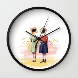 Kodachrome Duo Wall Clock
