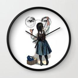 Banksy Imagine Give Peace A Chance Wall Clock