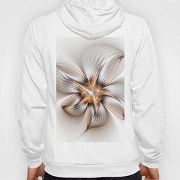 Elegance of a Flower, modern Fractal Art Hoody