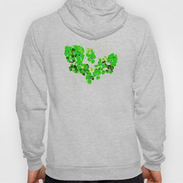 Green Heart Hoody