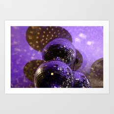 Disco Ball Art Print