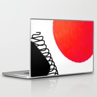 clown Laptop & iPad Skins featuring clown by Gréta Thórsdóttir