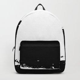 White Splash Backpack