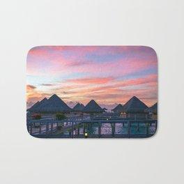 Bora Bora #society6 #decor #buyart Bath Mat
