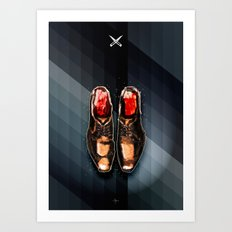 SOLE FOR SALE Art Print