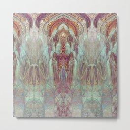 Lotus Castle Metal Print