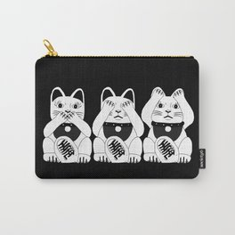 Three Smart Cats Carry-All Pouch